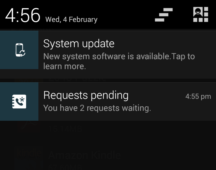 Avoiding Android Lollipop Update Notification